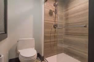 Gray Floor Bathroom