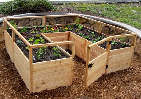 raised garden bed kit 8 x 8 outdoor living today