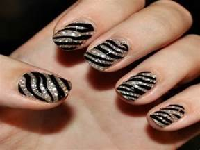Pics photos nail design ideas zebra designs for short nails art easy
