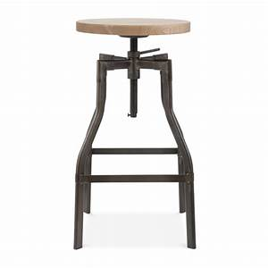 Tabouret Haut Industriel : 51 tabourets de bar que nous adorons favorite places spaces pinterest adjustable bar ~ Melissatoandfro.com Idées de Décoration