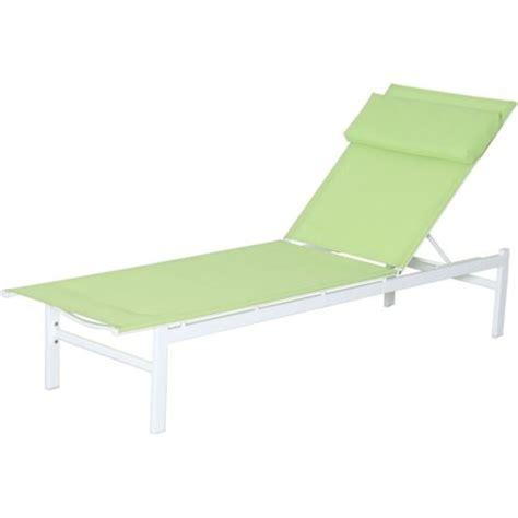 transat de plage carrefour carrefour bain de soleil plat vitamine acier et textil 232 ne vert pas cher achat vente