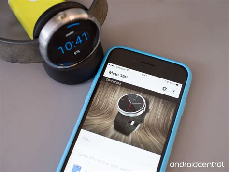 moto 360 with iphone lg g moto 360 and other android wear watches can