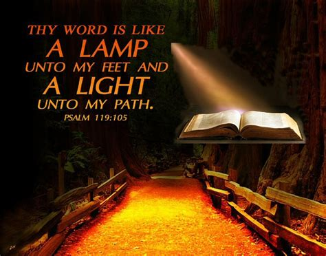 thy word is a l unto my feet meaning psalms 119 105 kjv nun thy word is a l unto my feet