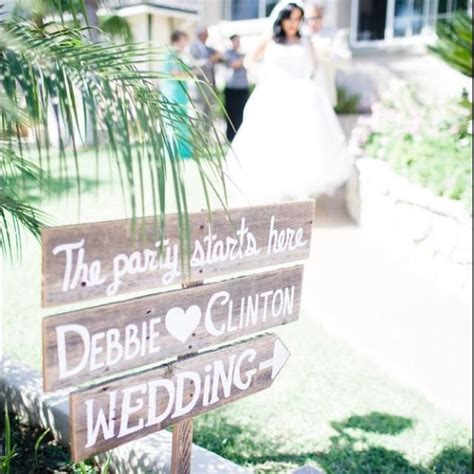 large wedding sign welcome sign with names and arrow church yard sign entrance rustic wedding