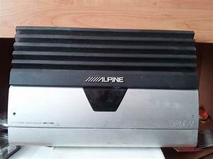 Used Alpine V12 Mrv-f540 - In Amps -  250