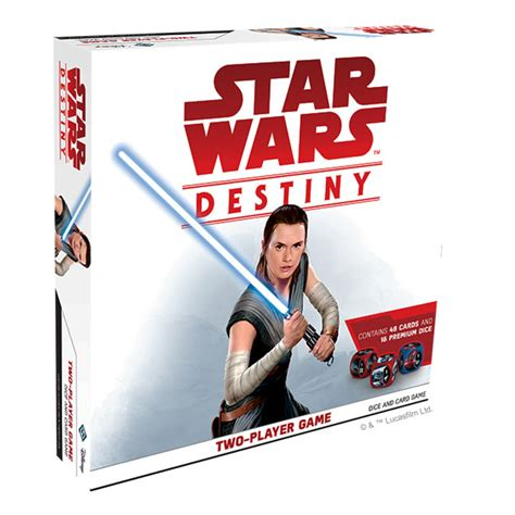 two player card star wars destiny two player set card game the gamesmen