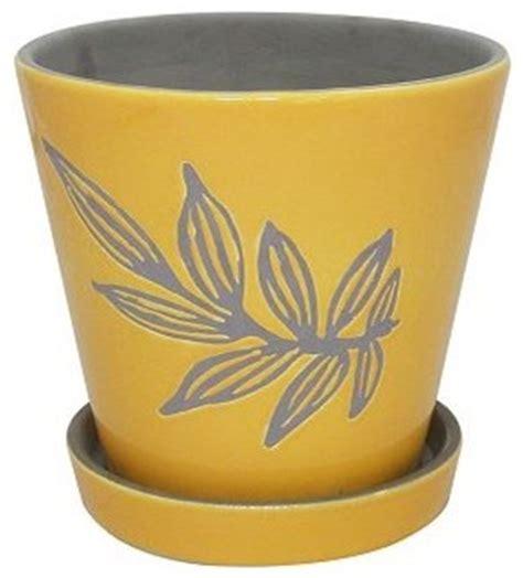 sonoma outdoors ceramic flower pot contemporary
