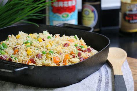recette pate chinoise facile la recette authentique du riz cantonais cuisine chinoise facile