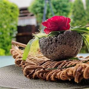 Betonschale Selber Machen : tischdekoration aus lianen basteln und dekorieren ~ Lizthompson.info Haus und Dekorationen