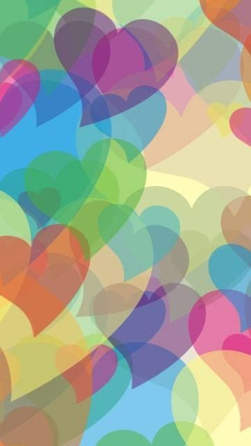 Heart iphone wallpaper cute wallpaper for phone love wallpaper kind of blue love blue blue wallpapers wallpaper backgrounds phone wallpapers glitter hearts. Abstract Color Hearts Wallpaper.   Abstract, Colorful wallpaper, Phone wallpaper design