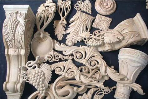 wood corbels carved furniture parts asia carvings ecvv