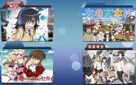Anime Folder Icons Free Summer 2013 Summer 2013 Anime Folder Icons By Julioissk84life On