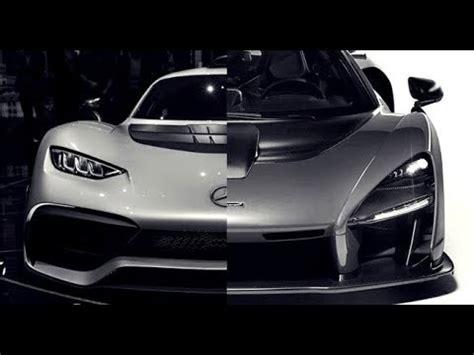 Mclaren Senna Vs Amg Project One Youtube