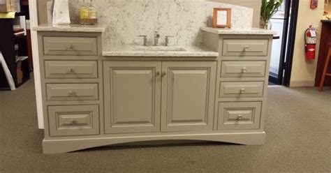 Kitchen Cabinets Paint Grade by Cabinets Showhouse Paint Grade Maple In Cadet Grey