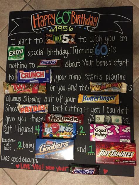 dads  birthday candy board candy birthday cards