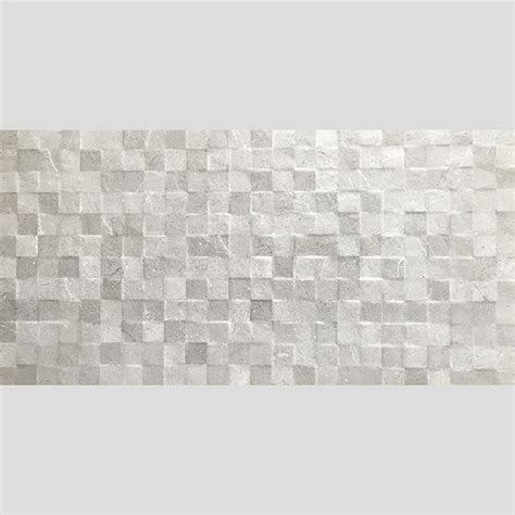 only 32 m2 decorative grey mosaic look porcelain feature