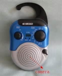 radio spy camera