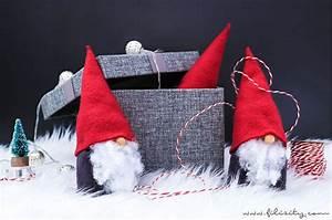 Filz Wichtel Basteln : wichtel basteln ohne n hen s e weihnachtsdeko und geschenkidee diy blog aus ~ Pilothousefishingboats.com Haus und Dekorationen