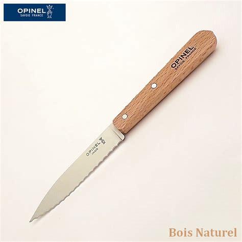 cranté opinel couteau de cuisine couteau a dent pour