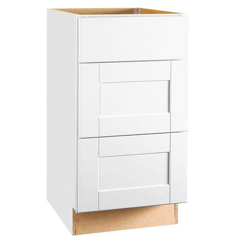 kitchen cabinet drawer hton bay shaker assembled 18x34 5x24 in drawer base