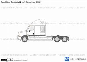 Freightliner Cascadia 72 Inch Raised Roof 2008 Plans