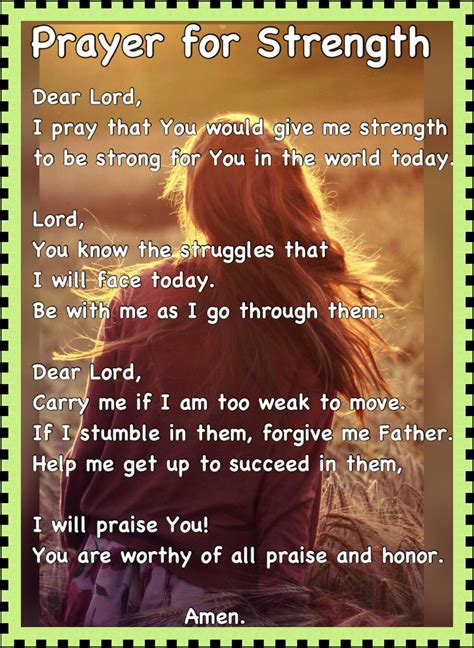 That's really given me strength, and it will give you strength. Pin by Leonora Van on prayers   Bible quotes prayer, Gods ...