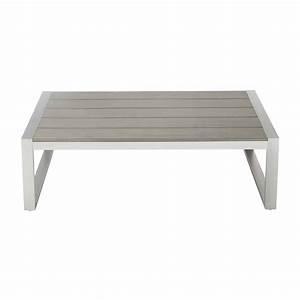 Maison Du Monde Table De Jardin : table basse de jardin en aluminium l 110 cm brisbane ~ Teatrodelosmanantiales.com Idées de Décoration