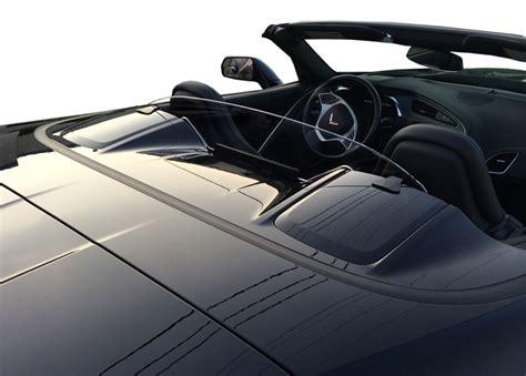 corvette  stingray convertible wind deflector