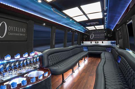 Coach Limo Service by 22 Passenger Limousine Coaches Kansas City Limousine
