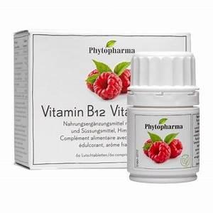 Vitamin D Dosierung Berechnen : phytopharma vitamin b12 lutschtabletten bei nu3 kaufen ~ Themetempest.com Abrechnung