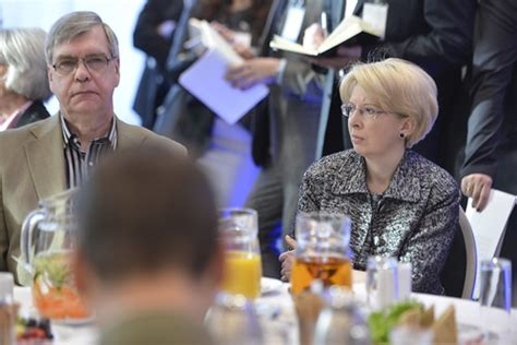 Saeimas priekšsēdētāja piedalās ikgadējā Lenarta Meri konf ...