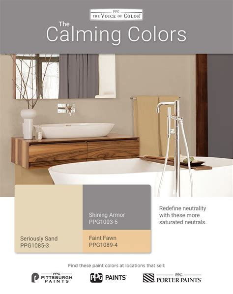 Calming Bathroom Colors by 18 Best Calming Colors Paint Color Palette Images On