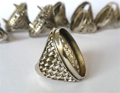 jual ikat cincin titanium halus batu akik ring kokot emban cangklong cangkok grosir di