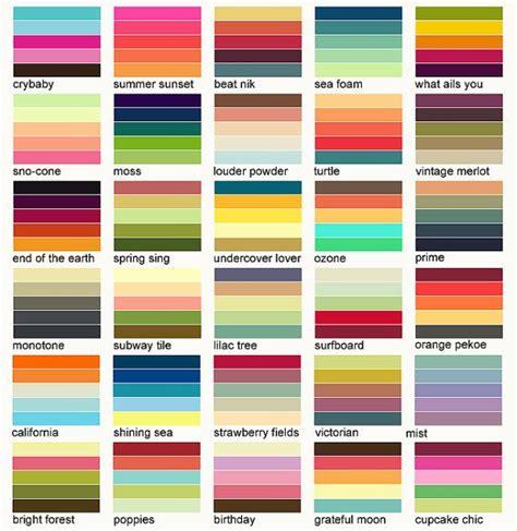 psychology  color schemes infographicnowcom