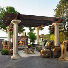 Outdoor Greatroom Tuscany Ii Deluxe Reinforced Fiberglass