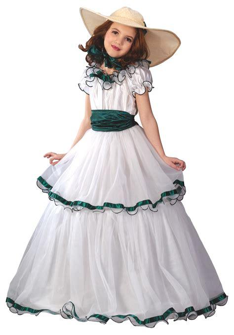 southern belle girls costume kids historical civil