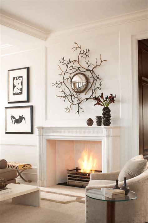 manteau cheminee  idees de decoration
