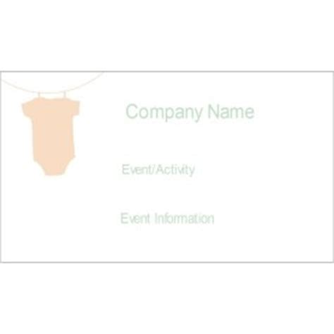 tent card template 4 per sheet templates baby onesie small tent card 4 per sheet avery