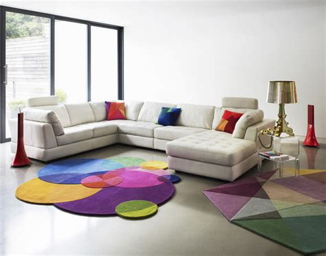 Cafe Colored Living Room by How To Upgrade Your Living Room Colorful Carpets Pretty