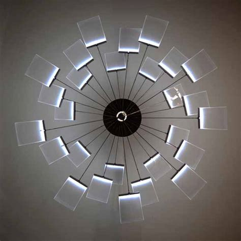 modern chandelier reinterpretation by hachinger