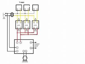 Help How To Wire 2 V8043e1012 Zone Valves Into A Weil Mclain Cgm-3-pi Gas Boiler
