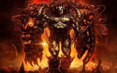 Demon Infernal Wallpapers Flames