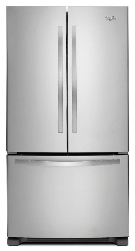 stainless steel door refrigerator whirlpool wrf535smbm 25 cu ft door refrigerator