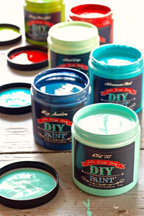 diy brand chalk type paint 27 colors of diy paint plus waxes metallics and top coats our