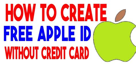 How To Create Free Apple Id With No Credit Card Full