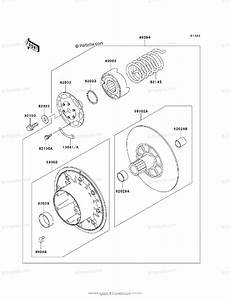 Kawasaki Side By Side Models With No Year Oem Parts Diagram For Driven Converter
