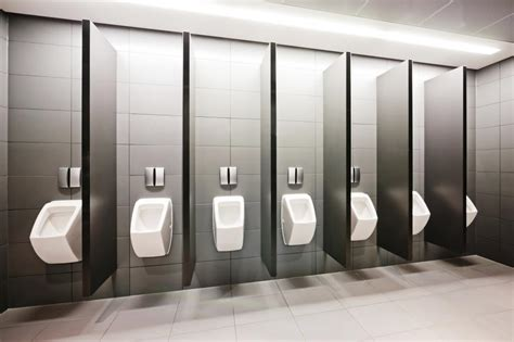 Bathroom Stall Dividers Material by How To Choose Partitions For Your Restroom