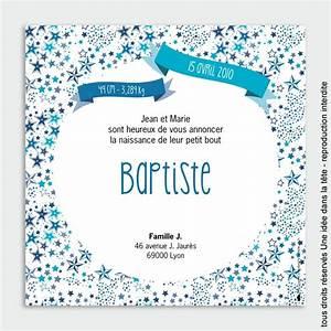 Faire Part Naissance Etoile : faire part naissance liberty les toiles bleues ~ Teatrodelosmanantiales.com Idées de Décoration
