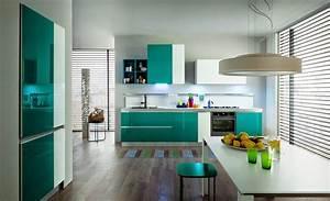 50, Ideas, De, C, U00f3mo, Combinar, Los, Colores, En, La, Cocina