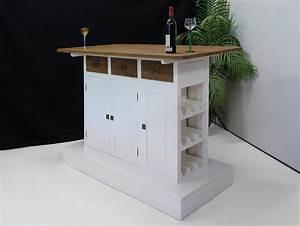 Bar Im Wohnzimmer : theke bar tresen hausbar teak wei im modernen design 1651 ebay ~ Indierocktalk.com Haus und Dekorationen